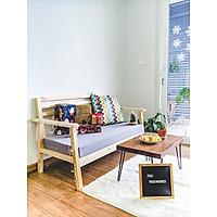 Bộ Bàn Ghế phòng khách gỗ tự nhiên / Combo ghế ngồi sofa, bàn trà tiếp khách