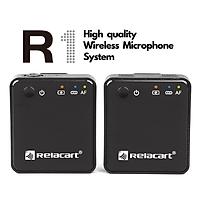 Micro cài áo quay video - Relecart R1 - thu âm chất lượng cao - Hàng Chính Hãng