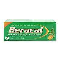 Thực phẩm bảo vệ sức khỏe BERACAL bổ sung vitamine và khoáng chất, tăng cường đề kháng (Tặng bọt biển rửa mặt cao cấp)