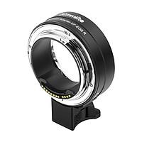 Khớp Nối Ống Kính Máy Ảnh Tự Động Lấy Nét Điện Tử Commlite cm-Ef-Eos R Có Thể Điều Chỉnh Khẩu Độ Cho Máy Ảnh Canon Lens EF/EF-S, Canon Eos R Rf-Mount Full Frame Đen
