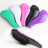 Lược nhựa chải tóc rối, massage gội đầu thư giãn, kích thước nhỏ gọn dễ mang theo ( màu giao ngẫu nhiên )
