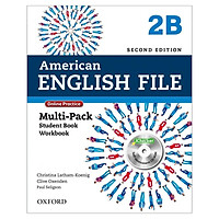 American English File 2B Multi-Pack with Online Practice and iChecker