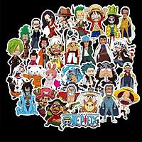 Bộ 48 miếng Sticker hình dán One Piece