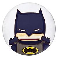 Gối Ôm Tròn Batman Bẹo Má - GOFU013