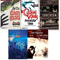COMBO 5 cuốn sách của tác giả Lôi Mễ:: đề thi đẫm máu + Cuồng vọng phi nhân tính + Sông ngầm + Ánh sáng thành phố + Tâm nguyện cuối cùng