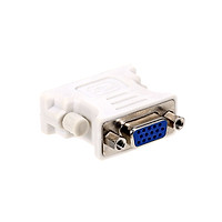 DVI to VGA Adapter DVI(24+1) Male to VGA Female Adapter Converter for Desktop Computer Laptop Monitor Projector