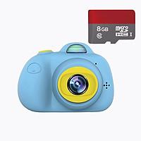 Máy chụp hình cho bé Promax D6 2 camera 8.0 MPX, Auto Focus, nhận dạng khuôn mặt - Tặng thẻ nhớ 8GB - Hàng nhập khẩu