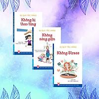 Bộ sách 50 Quy tắc vàng - Kỹ năng giữ bình tĩnh giúp bạn luôn vững vàng tâm lý ( Trọn bộ 3 cuốn) – Không bị thao túng, Không stress, Không nóng giận