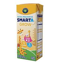 Thùng sữa công thức pha sẵn Nutricare Smarta Grow (180ml x 48 hộp)- hỗ trợ tăng chiều cao, phát triển não bộ