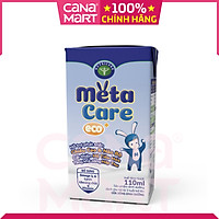 Thùng sữa nước Nutricare Metacare ECO - phát triển toàn diện cho trẻ từ 1 tuổi (110ml x 48 hộp)