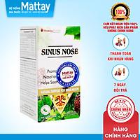Sinus Nose - Chai 30 viên - Hỗ trợ xoang mũi hiệu quả, dị ứng mũi