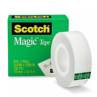 Băng Keo Ma Thuật 3M 810 Scotch Magic Tape 3/4 Inch x 36 Yard