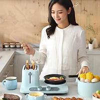 Máy nướng bánh mì XiaomiToasted Breads Hotpots điện Máy sản xuất bánh mì sandwich Máy nướng bánh mì Donlim DL-3405 Máy ăn sáng Máy nướng bánh mì tostadora de pan
