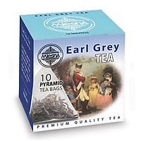 Hồng trà Bá Tước Mlesna Earl Grey Black Tea - 10 gói/ hộp