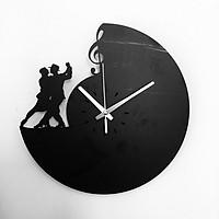 Đồng hồ treo tường chất liệu Hdf Jonnydecor 02