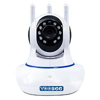 Camera IP WIFI trong nhà YooSee 2.0 ( 3 anten, 11 Led Full HD 1080P)  + Thẻ nhớ 32G - Hàng chính hãng