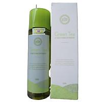 Tẩy trang mắt môi trà xanh Green Tea Lip And Makeup Remover the nature book