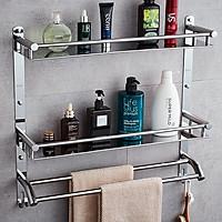 [SUS304] Kệ đôi phòng tắm để xà bông AIZA Inox SUS 304