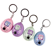 Finger-Guessing Game Tool Cute Stone Scissors Cloth Twisted Egg Toy Keychain Accessories Random Colors Funny