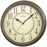 Đồng hồ treo tường Nhật Bản RHYTHM CMG985NR06, Kt 32.0 x 5.0cm, 845g, Vỏ Gỗ