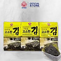 Rong biển tẩm gia vị ăn liền Ottogi 12.6g (lốc 3 gói)