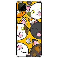 Ốp lưng dành cho Realme C15 mẫu Cặp Mèo Đáng Yêu
