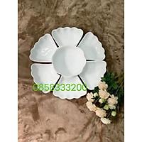 Bộ bát đĩa hoa mặt trời ĐK 45cm.