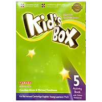 Kid's Box 2nd ed Activity Book with Online Resources Level 5