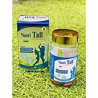 Thực phẩm bảo vệ sức khỏe Hỗ trợ tăng chiều cao Nutri Tall 2 - Chuyên biệt phát triển chiều cao cho trẻ 2-8 tuổi - Kết hợp Canxi Nano, Canxi Hữu Cơ, Vitamin D3, MK7