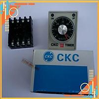 Rơ le, Relay thời gianTimer CKC AH3-3 220VAC