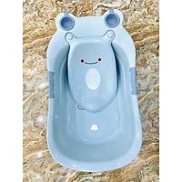 Chậu tắm ếch cao cấp kèm kệ đỡ cho bé sơ sinh(Chậu tắm cho bé)