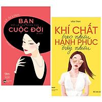 Combo 2 Cuốn Sách Hay Cho Những Người Phụ Nữ Hiện Đại : Bạn Mới Là Chủ Nhân Của Cuộc Đời Mình + Khí Chất Bao Nhiêu, Hạnh Phúc Bấy Nhiêu (Tặng kèm Bookmark Happy Life)
