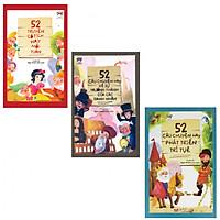 Combo 3 cuốn 52 Truyện Cổ Tích Hay cuối tuần , 52 câu chuyện hay về sự trưởng thành, 52 câu chuyện hay phát triển trí tuệ (Tặng 2 bút bi hình và 3 bookmark)