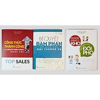 Combo 3 cuốn : Bí Quyết Đàm Phán Để Nắm Bắt Mọi Thương Vụ + Công Thức Thành Công Của Người Bán Hàng Xuất Sắc + Khách Hàng Khó Vẫn Thừa Sức Đối Phó