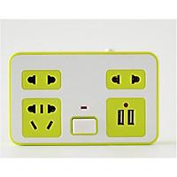 Ổ cắm điện không dây - Ổ điện 3 in 1 - Ổ điện kèm đèn ngủ 3D - Cổng USB sạc cực nhanh - Giao hàng màu sắc ngẫu nhiên