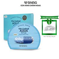 Combo 10 Mặt Nạ Cấp Ẩm Cho Da BNBG Vita Cocktail AQUA Foil Mask 30mlx10