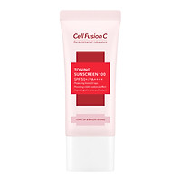 Kem chống nắng nâng tông Cell Fusion C Toning Sunscreen 100 SPF50+/PA++++ Mẫu mới (Nhập khẩu)