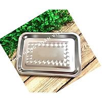 MÂM CHỦ NHẬT INOX SUS 304 Cao Cấp SIÊU ĐẸP. Khay Khuôn mâm đựng chứa thực phẩm ĐA NĂNG, Hàng VIỆT NAM CHẤT LƯỢNG CAO - Cứng cáp, bền - Nhiều Size. Mâm dùng đựng hong phơi thực phẩm TIỆN LỢI