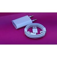 Combo bộ Sạc Nhanh dành cho iPhone 6S màu trắng (Adapter dẹt và cáp)