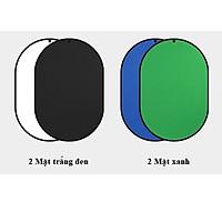 Phông vải 2 mặt 1.5x2m, Phông Key Xanh, Phông Quay Chuyên Nghiệp