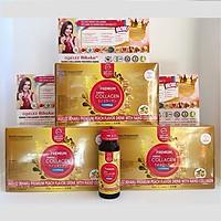 Combo 3 hộp Premium Nano Collagen Nhật Bản - 13500mg Agelez Bihaku (dạng nước)