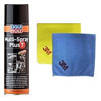 Dầu bôi trơn đa năng chống rỉ sét Liqui Moly 3305 - Tặng kèm 1 khăn lau chuyên dụng 3M