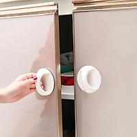 Tay nắm cửa đa năng dán ngăn kéo, cửa tủ siêu tiện dụng - giao màu ngẫu nhiên