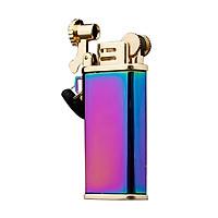 Hộp Qụet Bật Lửa Xăng Đá CF205 Thiết Kế Đẹp Độc Lạ 3 Màu Sang Trọng - Dùng Xăng Bấc Đá Cao Cấp ( Giao màu ngẫu nhiên )