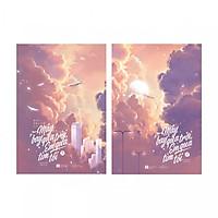 Combo 2 cuốn: Mây Bay Qua Trời, Em Qua Tim Tôi (Bản Đặc Biệt - Tặng kèm 4 Postcard)