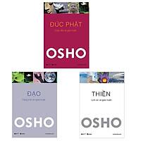 Bộ 3 cuốn tuyệt tác của Osho: Đức Phật - Đạo - Thiền ( Tái Bản 2021 )