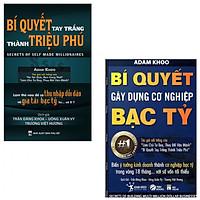 Combo 2 cuốn Bí Quyết Gây Dựng Cơ Nghiệp Bạc Tỷ, Bí Quyết Tay Trắng Thành Triệu Phú (tặng kèm 2 bút bi và 1 tẩy hình con vật)