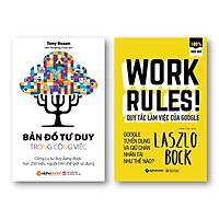 Combo Sách Hay Về Kỹ Năng Làm Việc: Bản Đồ Tư Duy Trong Công Việc + Quy Tắc Làm Việc Của Google