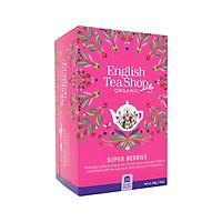 [Chỉ Giao HCM] Trà Organic Super Berries Hiệu English Tea Shop Loại 20 Gói