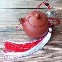Móc khóa Ma đạo tổ sư Chuông cung linh tua rua nhiều màu xinh xắn thiết kế độc đáo phong cách cổ trang cổ điển tặng ảnh thiết kế vcone